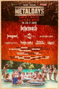 Plakat Metaldays