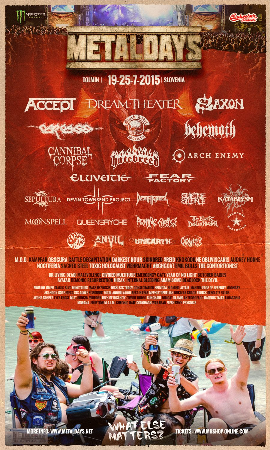 Metaldays Flyer Februar 2015